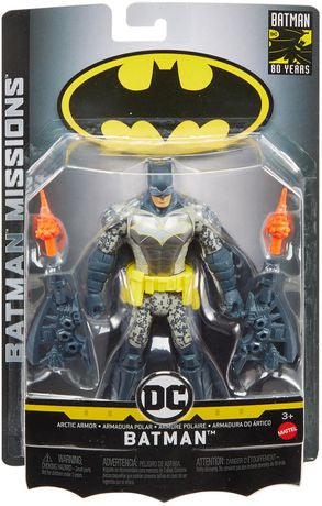 "Batman Missions 6"" Action Figure Artic Armour Batman"