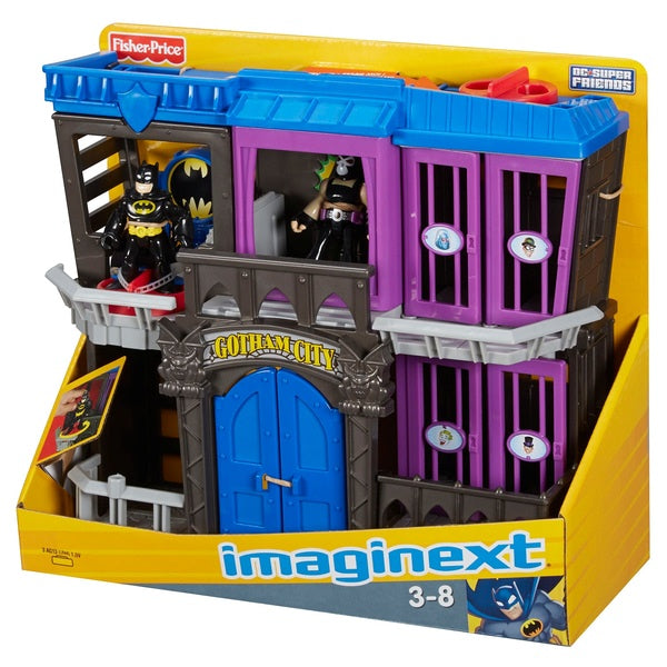 Imaginext Batman DC Super Friends Gotham Jail