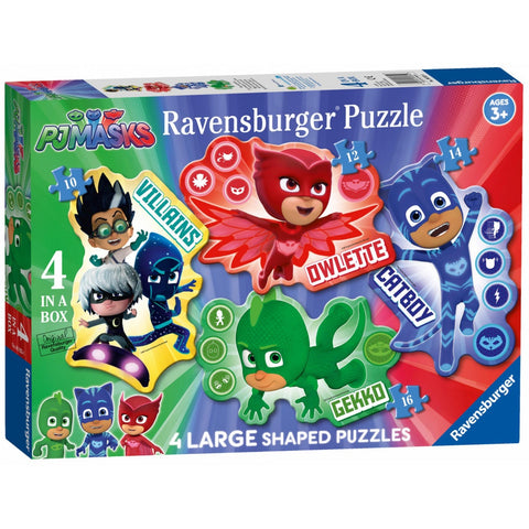 PJ Masks 4 In A Box Jigsaw Puzzle