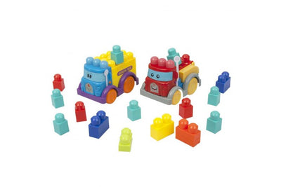 Happy Line Maxi Block 30Pc Vehicle Set