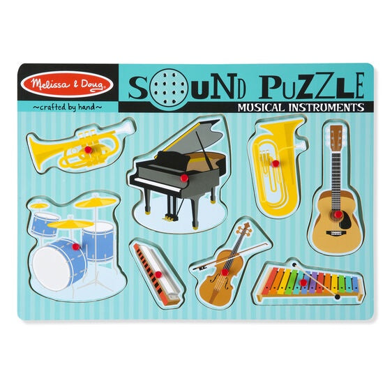 Melissa & Doug Sound Puzzle Musical Instruments
