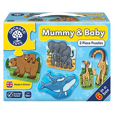 Orchard Toys Mummy & Baby Jigsaw Puzzles