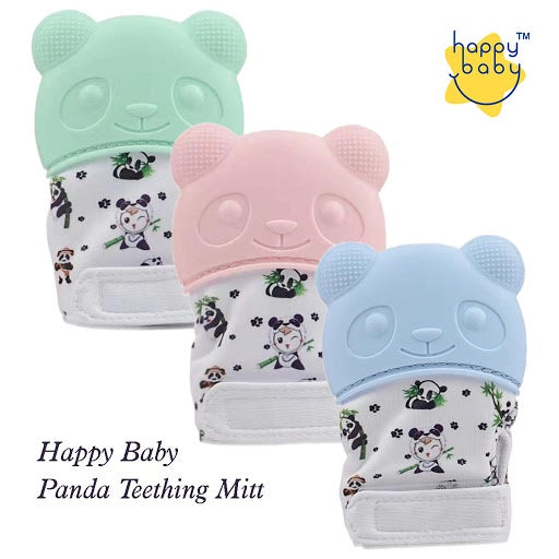 Happy Baby Panda Teething Mitt