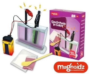 Magnoidz Electrolysis in Colour Science Kit