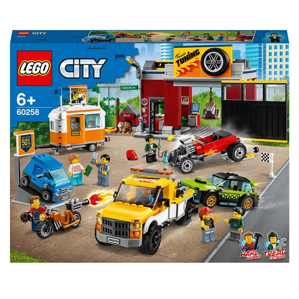 Lego City Turbo Wheels 60258 Tuning Workshop