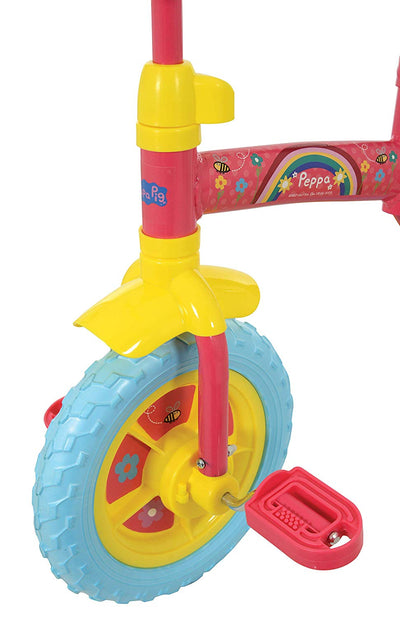 "Peppa Pig My First 2 in 1 10"" Training Bike"