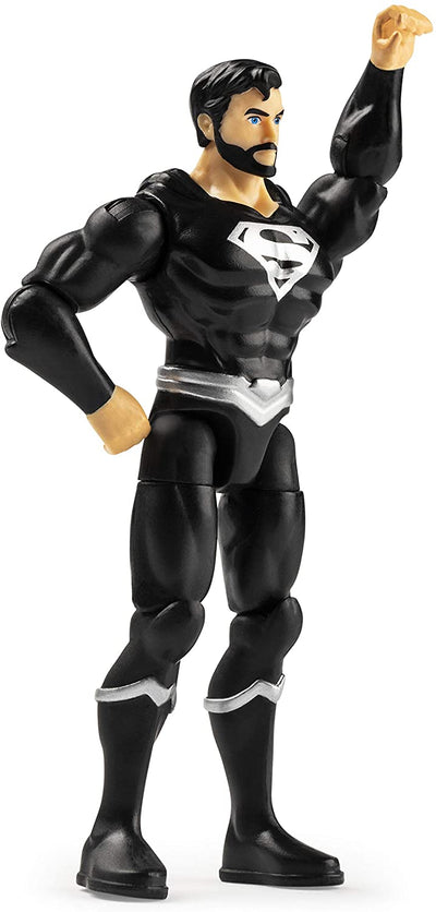 DC Multiverse Superman 10cm Superman Black Figure With 3 Mystery Accessories