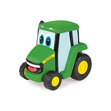 Tomy John Deere Push N Roll Johnny Tractor