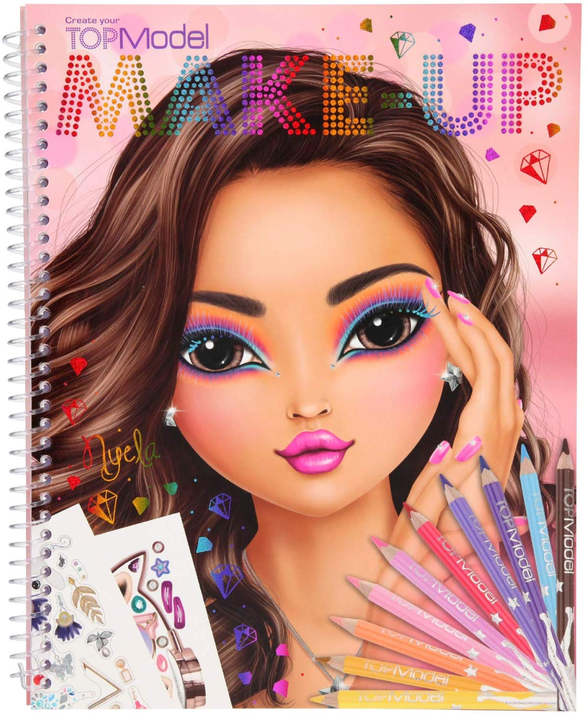 TOPModel Make Up Sticker Book