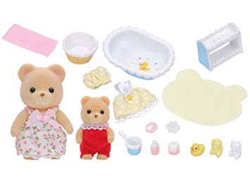 Sylvanian Families Baby Bath Time