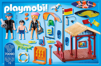 Playmobil Family Fun 70090 Water Sports Lesson