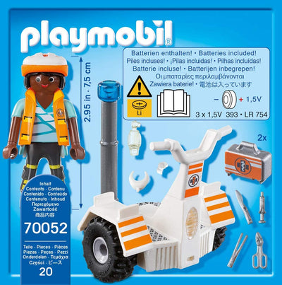Playmobil City Life 70052 Rescue Balance Racer