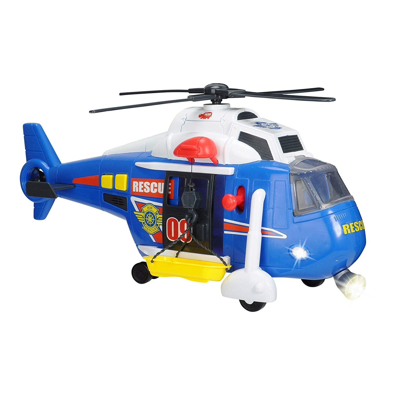Dickie Toys Rescue Helicopter Light &  Sound