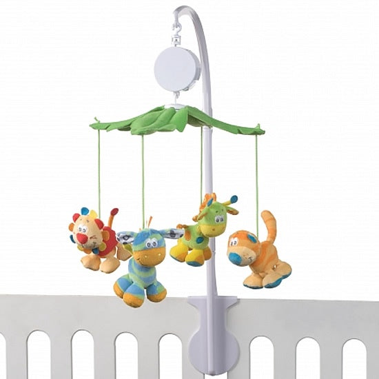 Playgro Jungle Journey Musical Cot Mobile