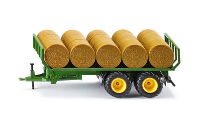 Siku 2891 Trailer with Round Bales 1-32