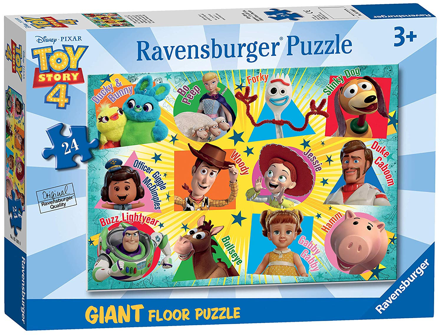 Toy Story 4 Giant Floor Jigsaw Puzzle