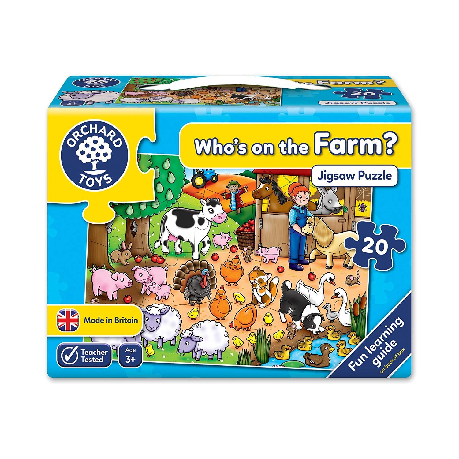 Orchard Toys Who's on the Farm Jigsaw Puzzle