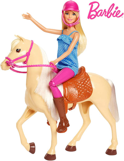 Barbie Horse And Barbie Doll Playset