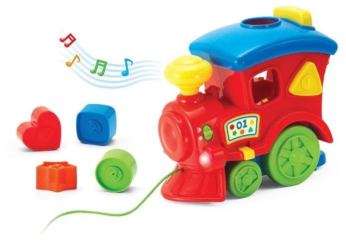 Keenway Fun On Wheels Light & Sound Locomotive Shape Sorter