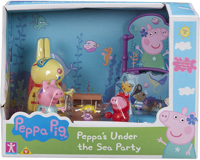 Peppa Pig Peppa's Under The Sea Party Playset
