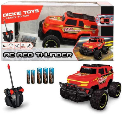 Dickie Red Thunder R/C Off Road Vehicle 1:24