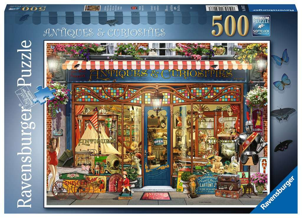 Ravensburger Antiques And Curiosities 500pc Jigsaw Puzzle