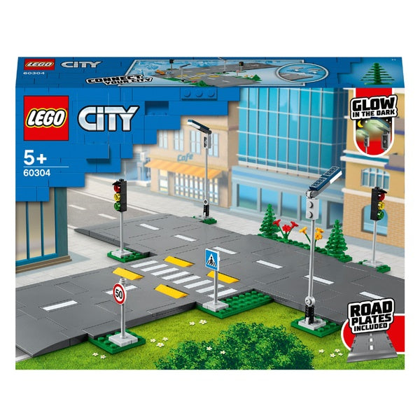 Lego City 60304 Road Plates