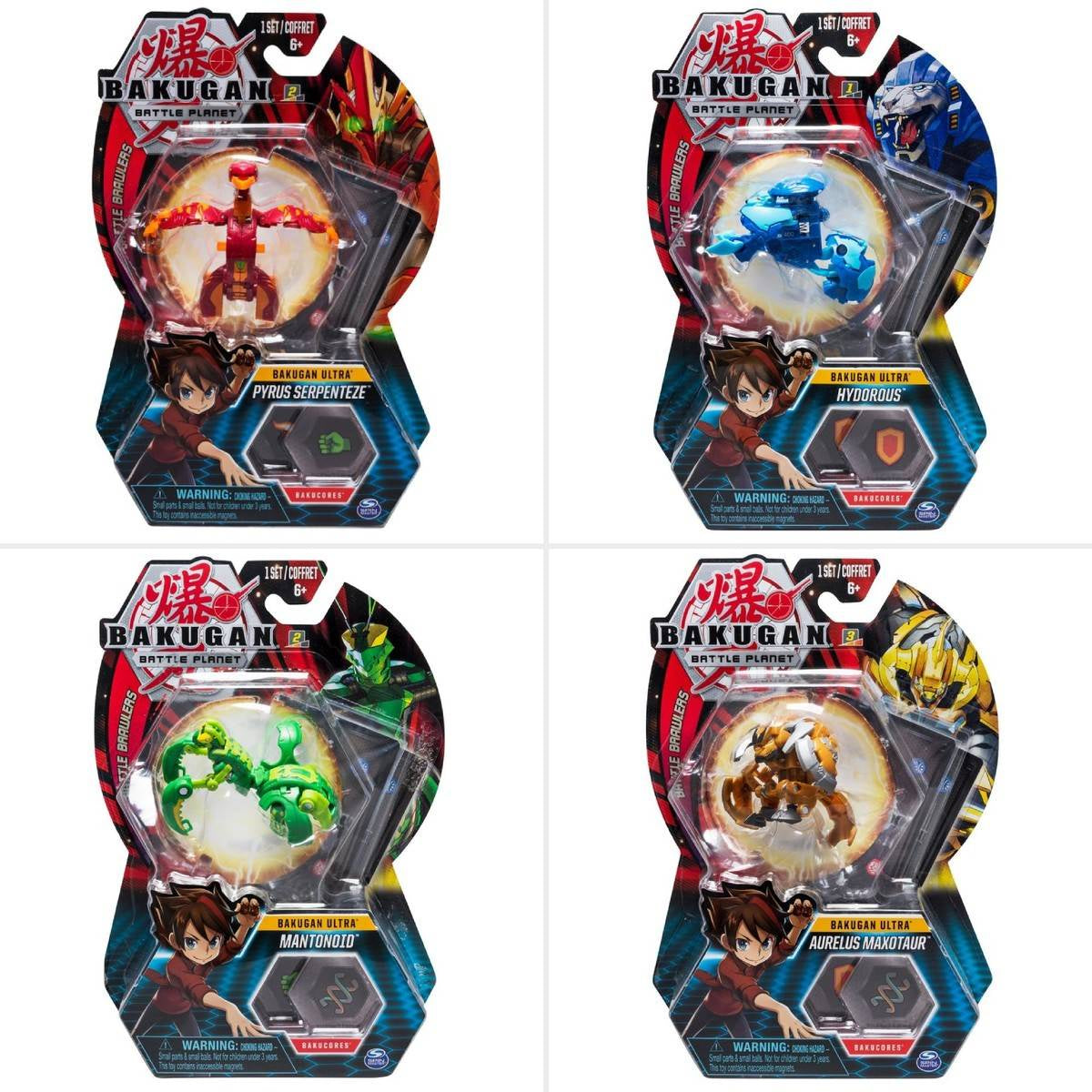 Bakugan Ultra 1 Pack Assortment