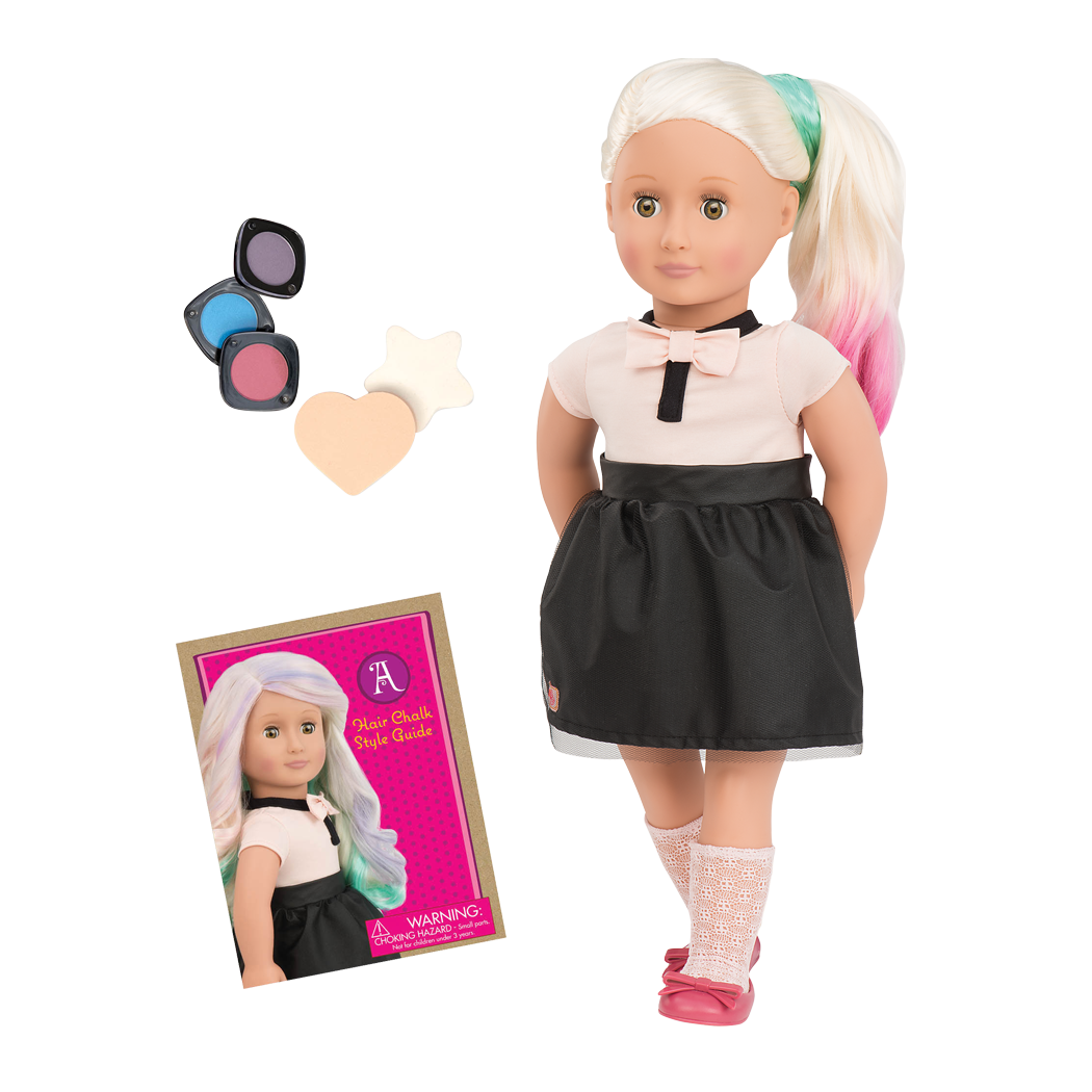 Our Generation Doll Amya Hair Colour Doll