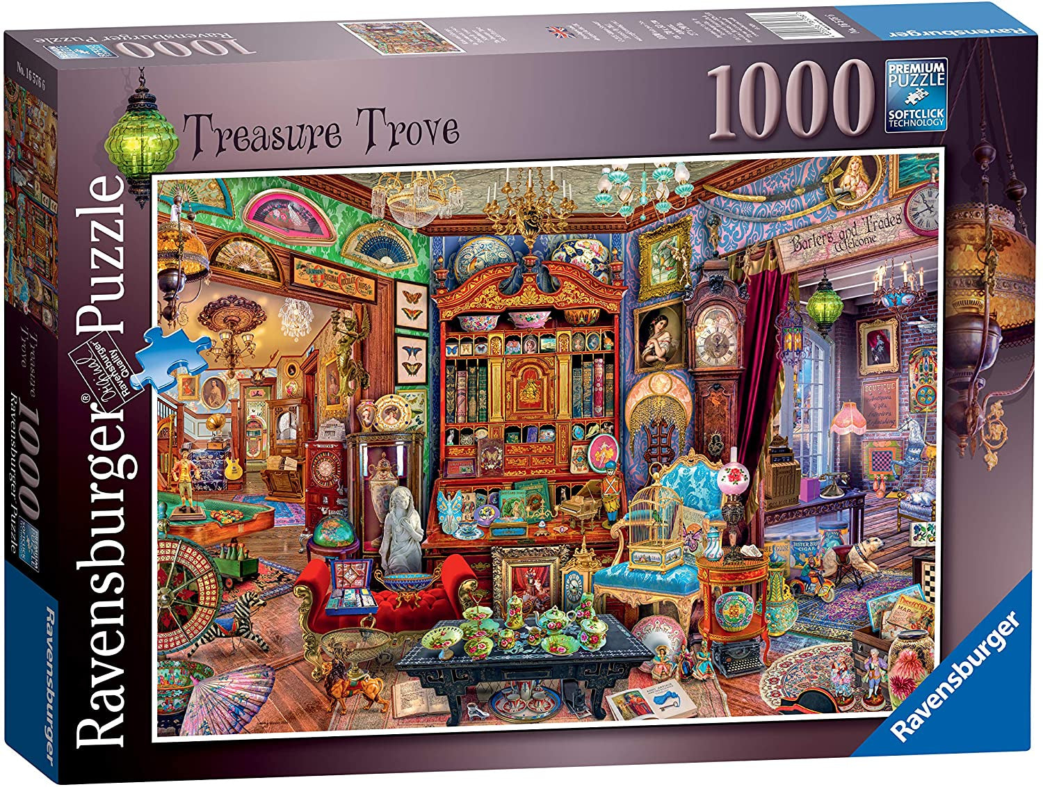 Ravensburger Treasure Trove 1000pc Jigsaw Puzzle