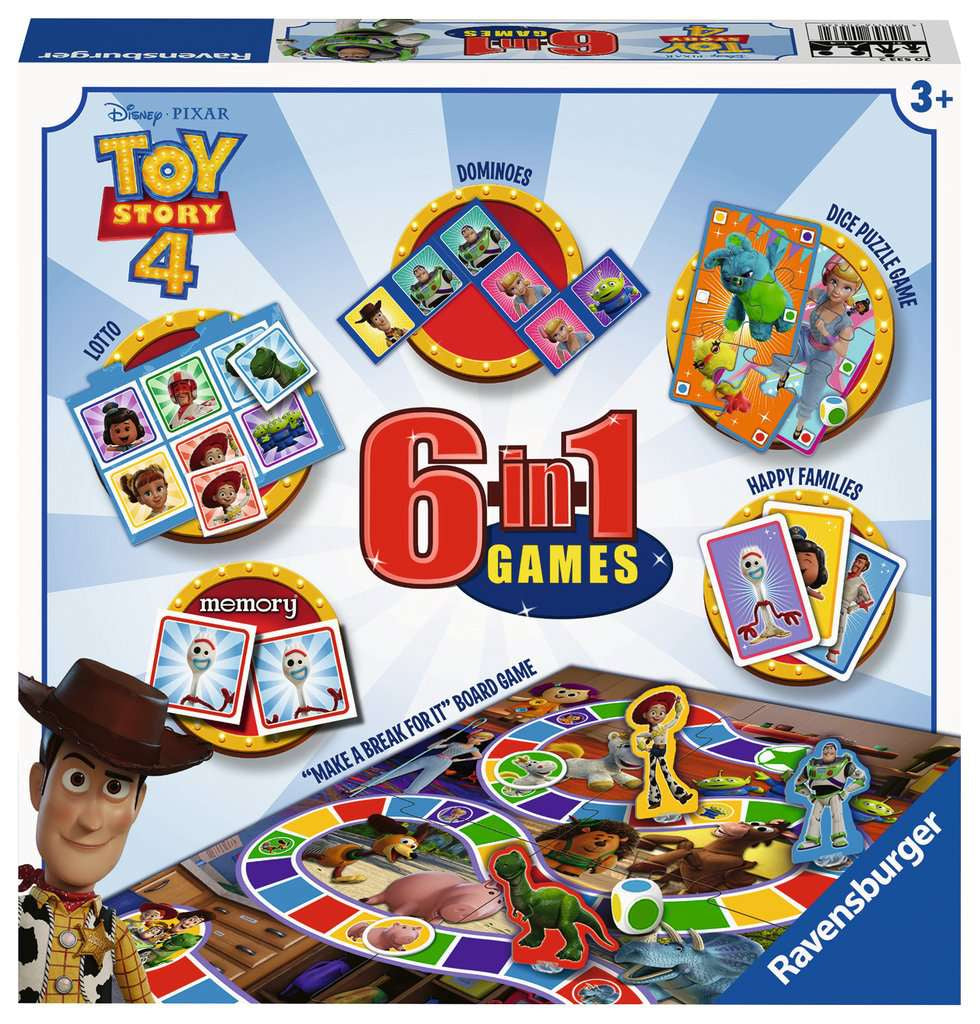 Toy Story 4 6 in 1 Games Set