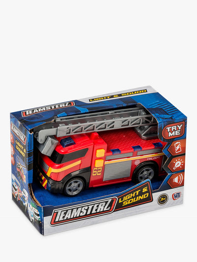 Teamsterz Light & Sound Fire Engine Small