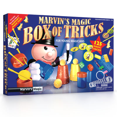 Marvin's Magic Box Of Tricks For Young Magicians by venntov