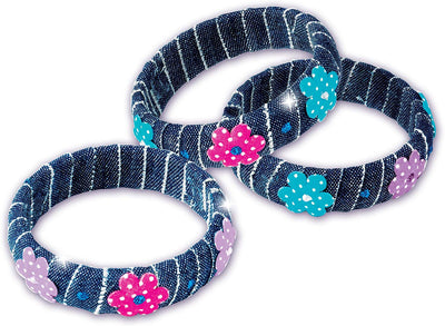 John Adams Funky Fashion Denim Bangles