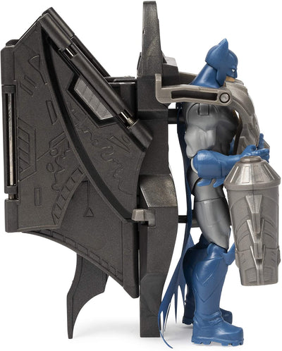Batman Mega Gear Batman 10cm Figure With Mega Gear Armour