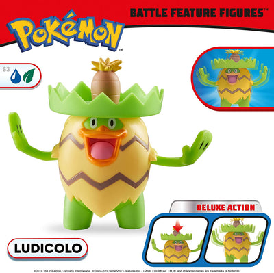 Pokemon Battle Feature Figure Ludicolo
