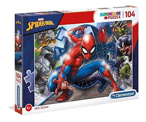 Clementoni Spider-Man 104pc Jigsaw Puzzle