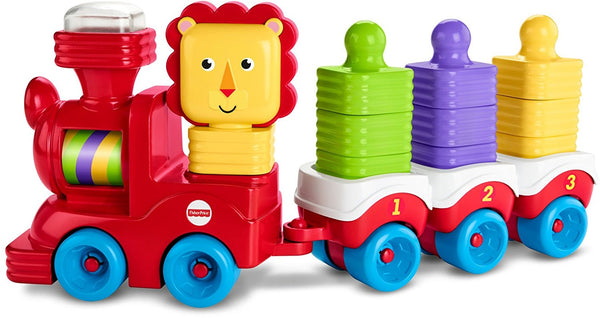 Fisher Price Little Stackers Lion Locomotive