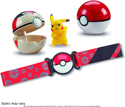 Pokemon Clip N' Go Poke Ball Belt Set