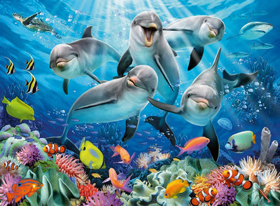 Ravensburger Dolphins 500pc Jigsaw Puzzle