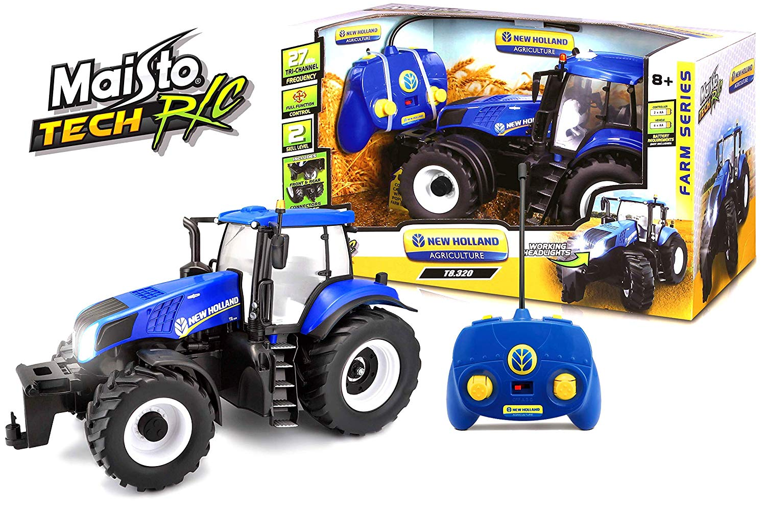 Maisto New Holland R/C Tractor 1:16