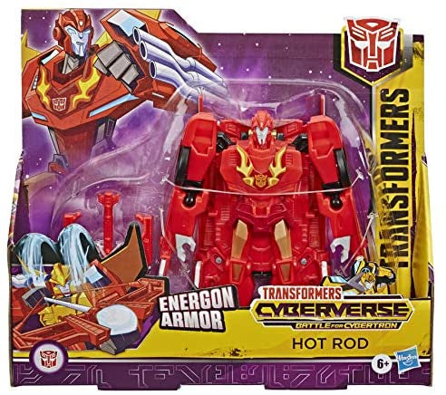 Transformers Cyberverse Energon Armour Hot Rod