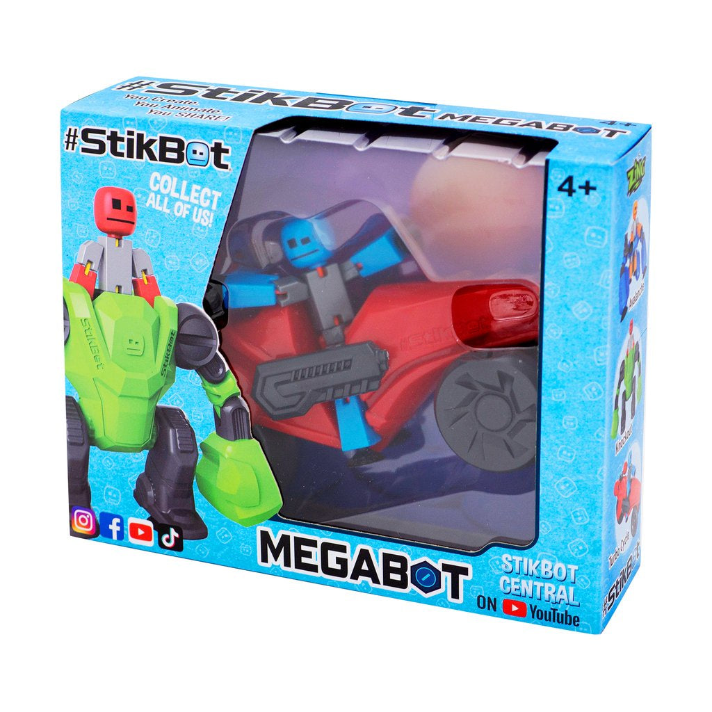 StikBot MegaBot Turbo Cycle