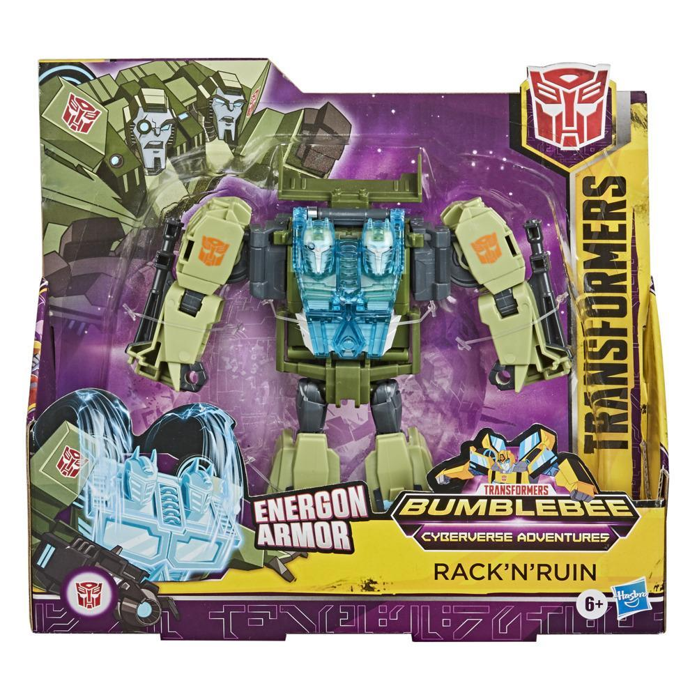 Transformers Cyberverse Ultra Energon Armour Rack N' Ruin