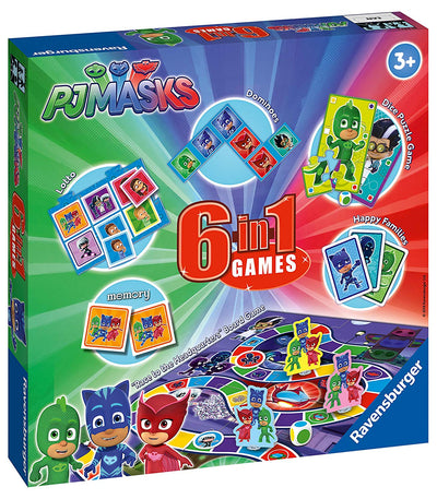 PJ Masks 6 in 1 Games Set