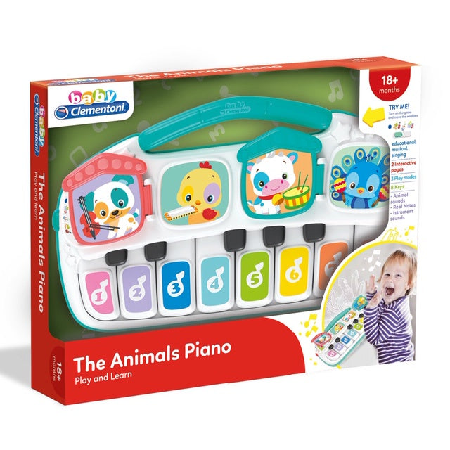 Baby Clementoni The Animals Talking Piano