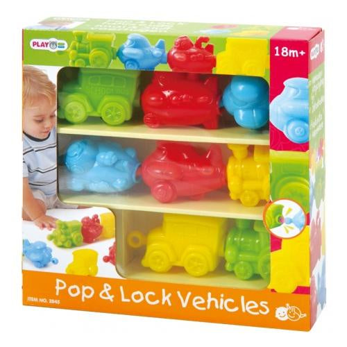 Playgo Pop And Lock Vehicles