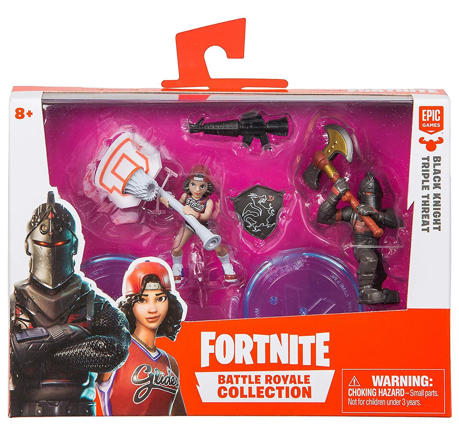 FORTNITE Battle Royale Collection Black Knight / Triple Threat