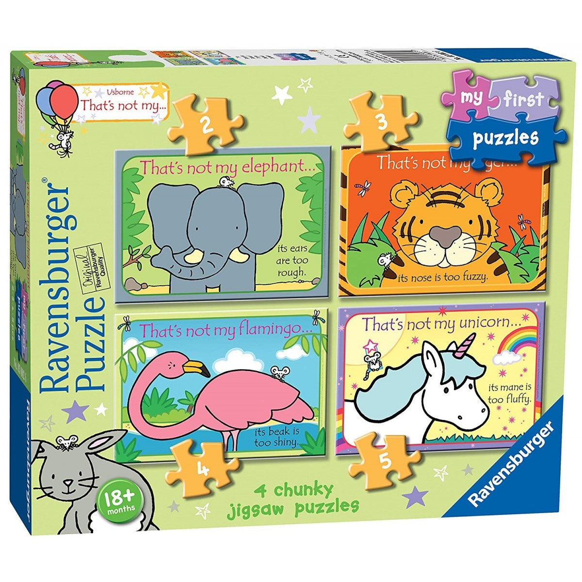 Usborne That's Not My... My First Puzzles Jigsaw Puzzles