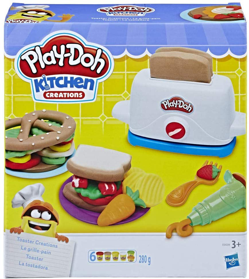 Play- Doh Toaster Creations Playset